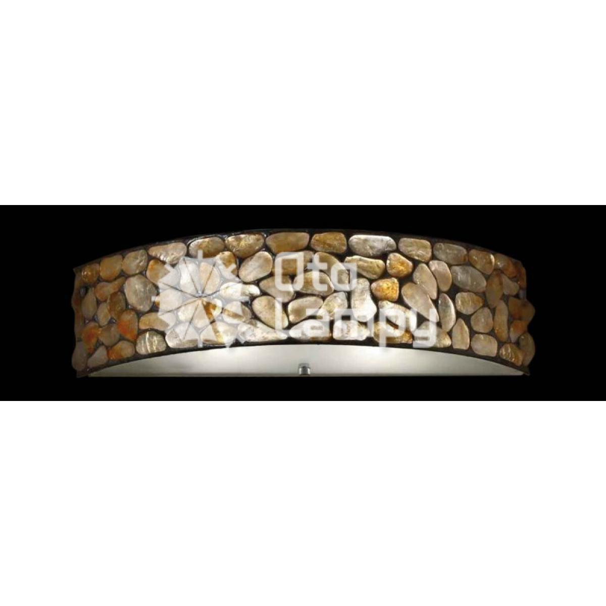 oprawy z masy gipsowej, lampy z kamienia